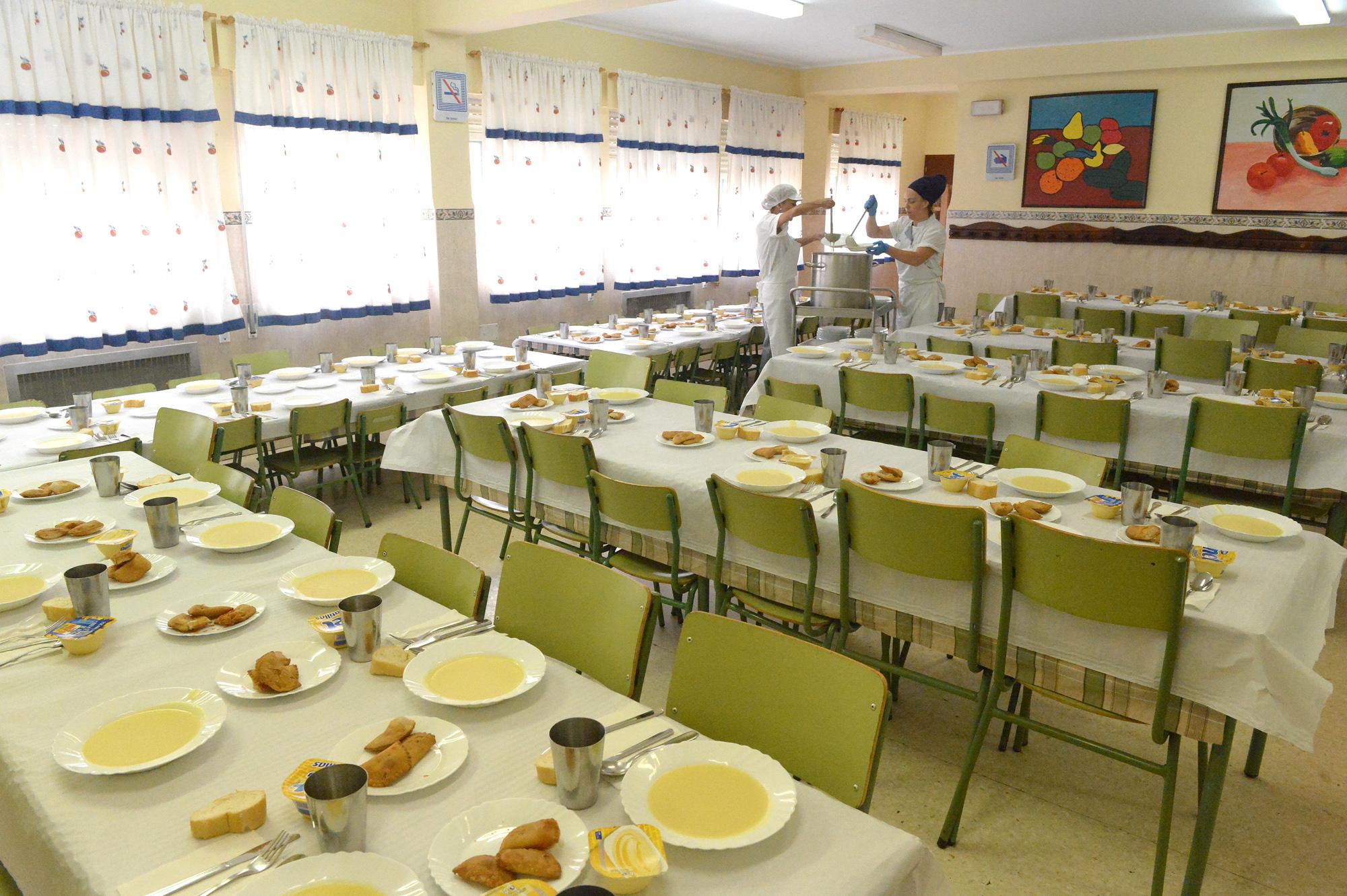 Ceuta becar a 270 alumnos durante este curso en los - Comedores escolares castilla y leon ...