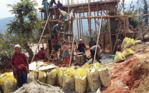 Edurne Pasaban y 'Mountaineers for Himalayas' finalizan la reconstrucción de…