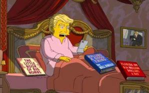 Así celebrarán los Simpson los 100 días de gobierno de…