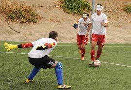 La Selección española de Fútbol para Ciegos busca su octavo…