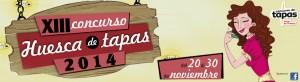 cartel tapas Huesca 2014