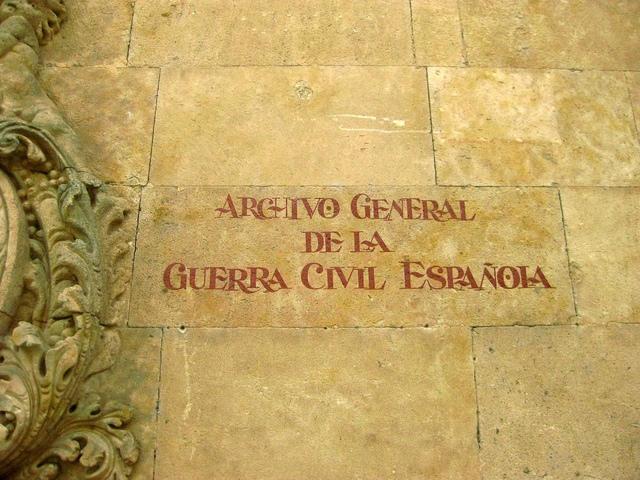 Archivo General de la Guerra Civil Española en Salamanca.