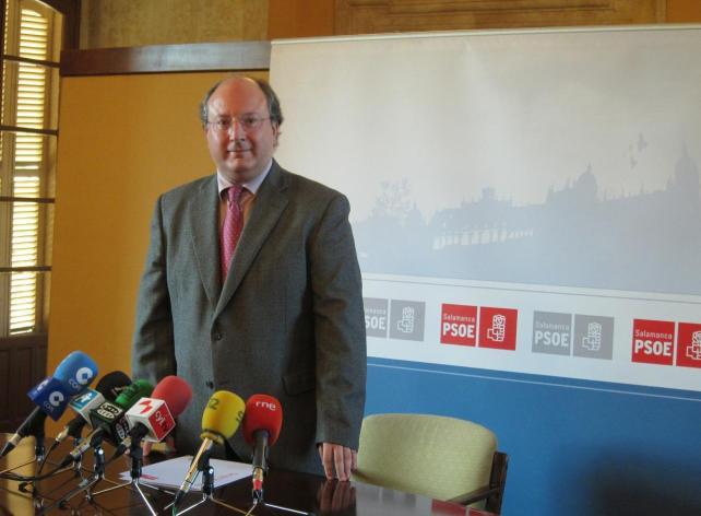 Enrique Cabero, PSOE.