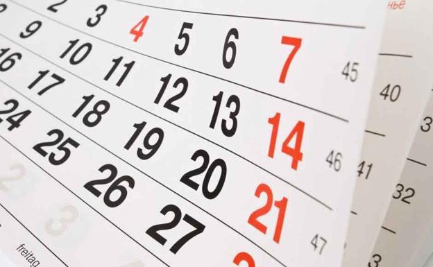 Calendario Laboral Jaen 2020.Asi Sera El Calendario Laboral De 2020 En La Cav Agencia De Noticias